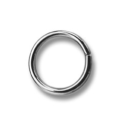 Saddlery Rings 10 - 4232100 - (non-welded) - nickled - 1000pcs/box
