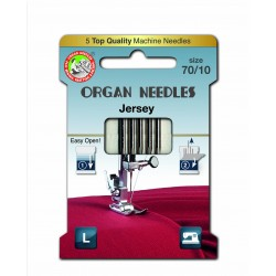 Machine Needles ORGAN JERSEY 130/705H - 70 - 5pcs/card