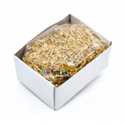 Brass Safety Pins ECONOMY - 22mm - 1728pcs/box (loose)