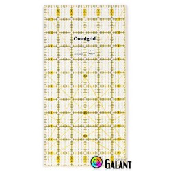 Universal ruler with grid (Omnigrid-Prym) 6 x 12inch - 1pcs