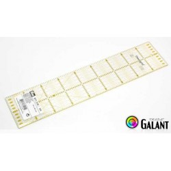 Universal ruler with grid (Omnigrid-Prym) 10 x 45cm - 1pcs