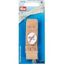Bra extender 25 mm - Beige - 1pcs/card