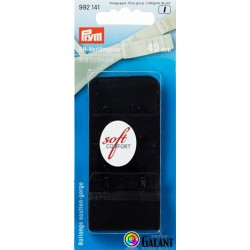 Bra extender 40 mm - Black - 1pcs/card