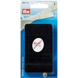 Bra extender 50 mm - Black - 1pcs/card