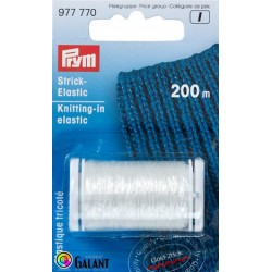 Knitting-in elastic 200m (Prym) - 1pcs/card