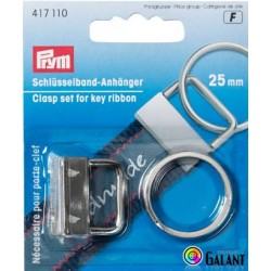 Clasp set for key ribbon 25 mm (Prym) - 1pc