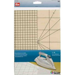 Ironing board cover S-M with cm scale (Prym) - 1pc/folie