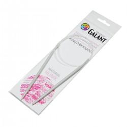 Aluminium Knitting needles - circular 80cm - 5,00mm - 1pcs/polybag