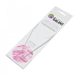 Aluminium Knitting needles - circular 100cm - 2,00mm - 1pcs/polybag