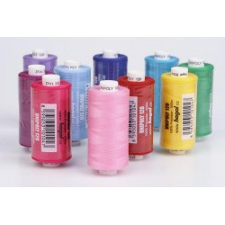 Polyester threads UNIPOLY 120 (TEX14x2) - 500m/spool