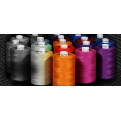 Polyester threads UNIPOLY 120 (TEX14x2) - 1000m/spool