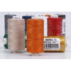 Polyester threads UNIPOLY 30  Jeans (TEX30x3) - 200m/spool
