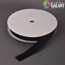 Velcro 38mm - colour: 170 (black) - Loops - 25m/roll