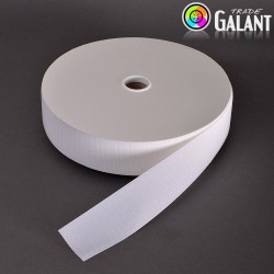 Velcro 50mm - colour: 990 (white) - Hooks  - 25m/roll