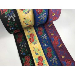 Embroidered ribbon (161 603 557), 55mm, 25m/bunch