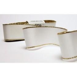 Taffeta Ribbon with Lurex (117 240 151-2) 15mm - 10m/bunch