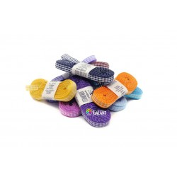 Tartan ribbon (167 206 107) 10mm, 10m/bunch