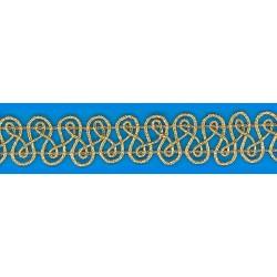 Metallic braid (8 814 314 14) 14mm - 25m/spool