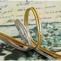 Metallic soutache braid (8 811 159 09) 2,0mm - 50m/spool