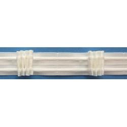 Curtain tape 8 197 188 26 - c. white - 26mm - 1m
