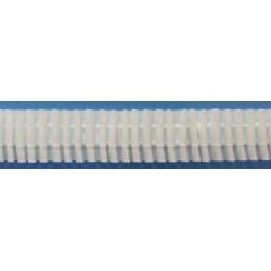 Curtain tape 8 197 199 28 - c. white - 23mm - 50m/reel