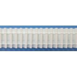 Curtain tape 8 197 227 40 - c. white - 40mm  - 50m/reel