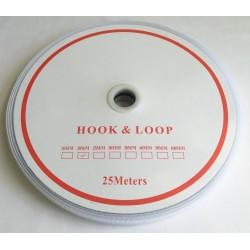 Velcro Economy - colour: 990 (white) - Hooks 20mm - 25m/roll