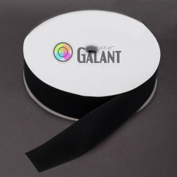 Velcro 50mm - colour: 170 (black) - Hooks - 25m/roll