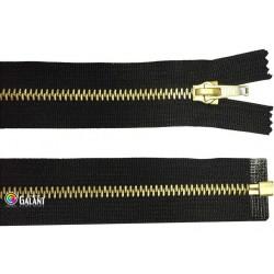 Brass zippers P6 open end - 40cm - 1pcs