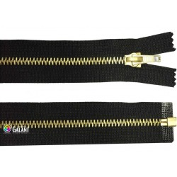 Brass zippers P6 open end - 55cm - 1pcs