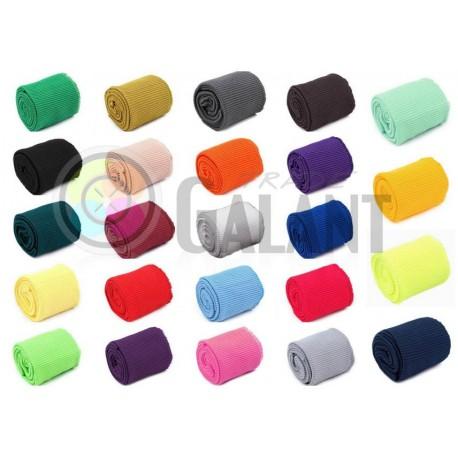Set of Elastic Rib Knit Fabric width 7 cm