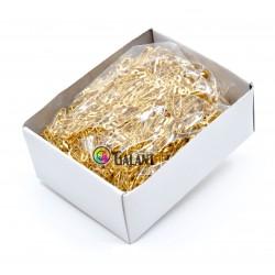 Brass safety Pins PREMIUM - 22x0,65mm - 1728pcs/box (loose)