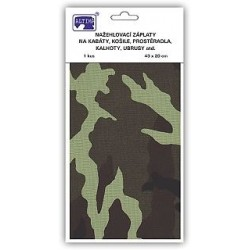 Iron-on Patches with print 43x20cm (art.754-740) - 1pcs