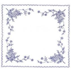 Pre-printed Cotton Tablecloth 70x70cm - CHZ48 - 1pcs