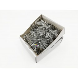 Safety Pins PREMIUM - 32x0,80mm - nickel plated - 864pcs/box (11/12 - in bunches - 72buches/box)