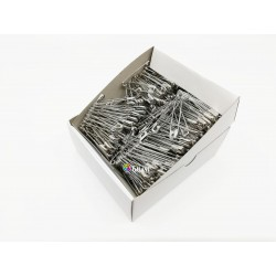 Safety Pins PREMIUM - 46x1,00mm - nickel plated - 432pcs/box (11/12 - in bunches - 36buches/box)