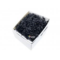 Safety Pins PREMIUM - 20x0,65mm - black - 1728pcs/box (12pcs in bunch - 144buches/box)