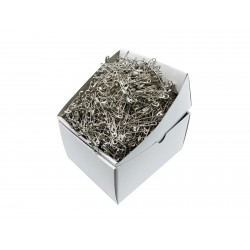 Safety Pins PREMIUM - 32x0,80mm - nickel plated - 1728pcs/box (loose)