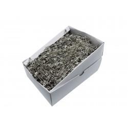 Safety Pins PREMIUM - 38x0,90mm - nickel plated - 1728pcs/box (loose)