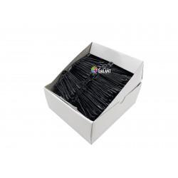 Safety Pins PREMIUM - 50x1,10mm - black - 432pcs/box (11/12 - in bunches - 36buches/box)