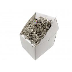 Safety Pins PREMIUM - 56x1,10mm - nickel plated - 432pcs/box (loose)
