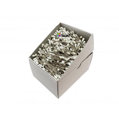 Houzeau (upholsterer) Pins 60x1,20mm - white - 1000pcs/box