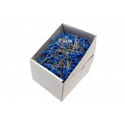 Houzeau (upholsterer) Pins 60x1,20mm - blue - 1000pcs/box