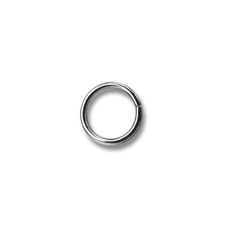 Saddlery Rings 18 Turquais - 4261300 - (non-welded) - nickel plated - 1000pcs/box