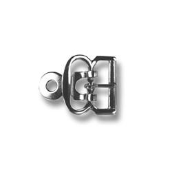 Shoe Buckles - 3350500 (40972/12 SA) - nickel plated - 1000pcs/box