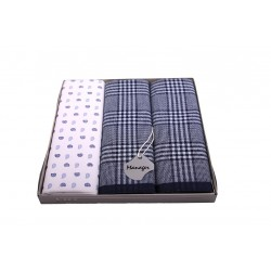 Mens handkerchiefs M39 - 3pcs/box