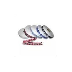 Fancy ribbon (161 209 227), 22mm, 25m/bunch
