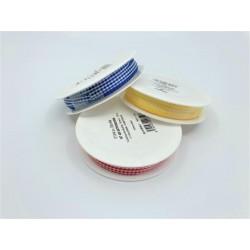 Tartan ribbon (167 400 057) 5mm, 10m/spool