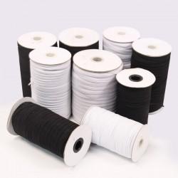 Elastic Braid Tape (8 511 130 08) - 5mm - 300m/spool