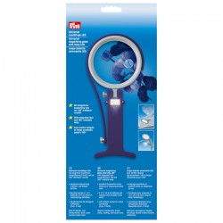 Universal magnifiying glass LED (Prym) - 1pcs